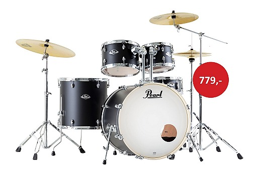 Pearl Export EXX in Satin Shadow Black